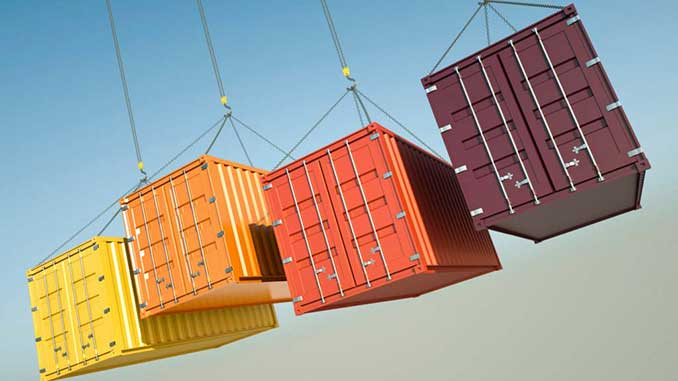 Anti-pollution drive for shipping containers