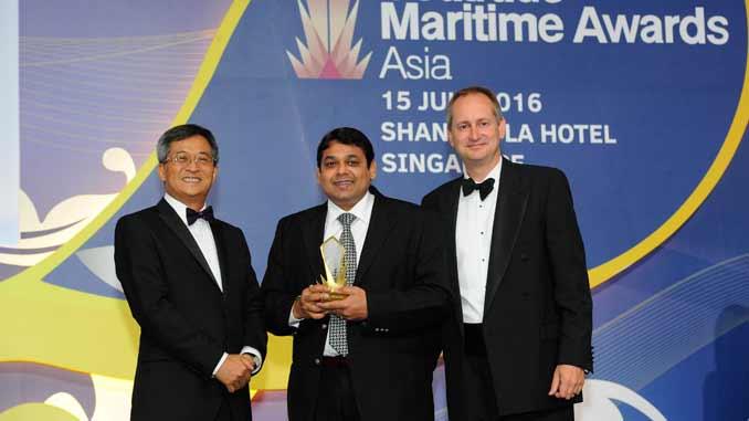 Pacific Basin award