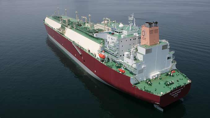 LNG Carrier Nakliat