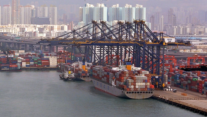 Hong Kong Port Cargo Throughput Down by 5.2% in the Second Quarter of 2018